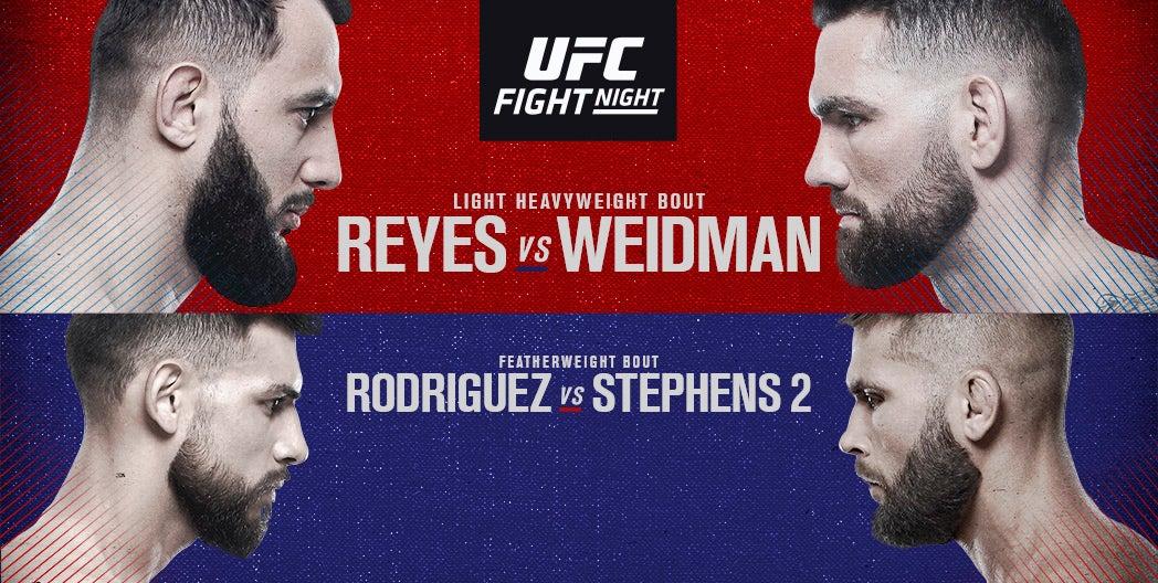 More Info for UFC