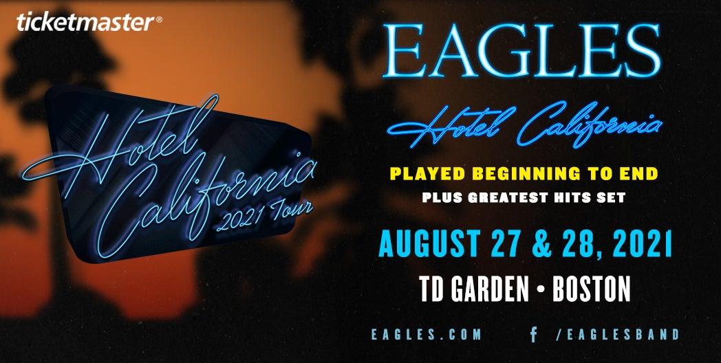 More Info for Eagles - Hotel California Tour