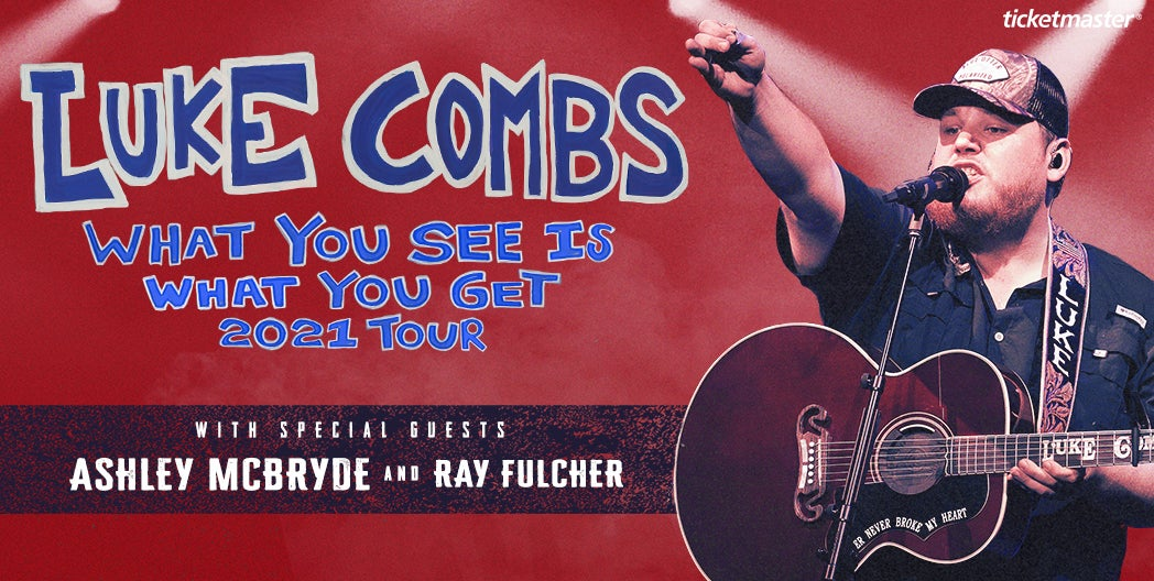 More Info for Luke Combs - Rescheduled