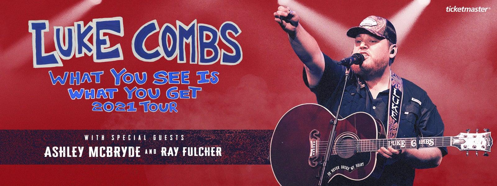 Luke Combs - Rescheduled