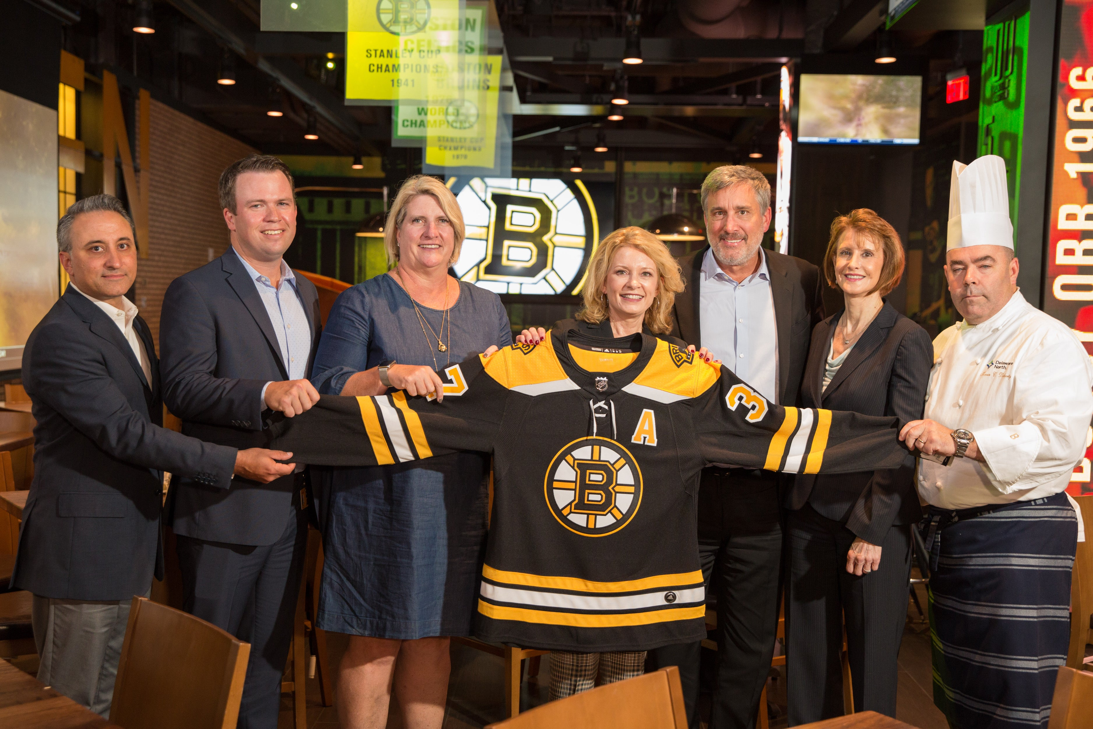TD Garden & Johnson & Wales executives