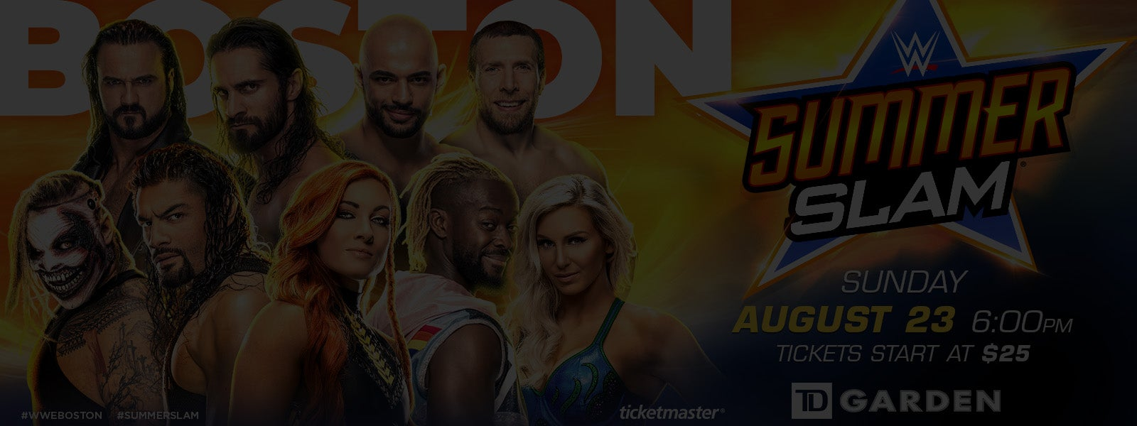 WWE SummerSlam / NXT Takeover - Canceled