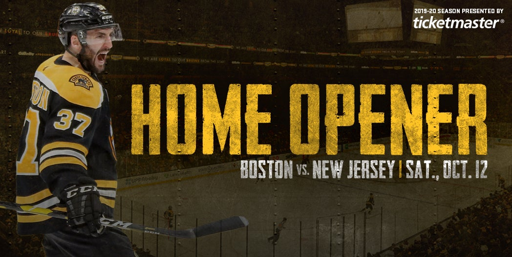 More Info for Home Opener: Bruins vs. Devils