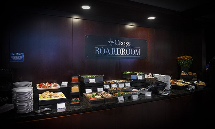 Image of Boardroom food bar