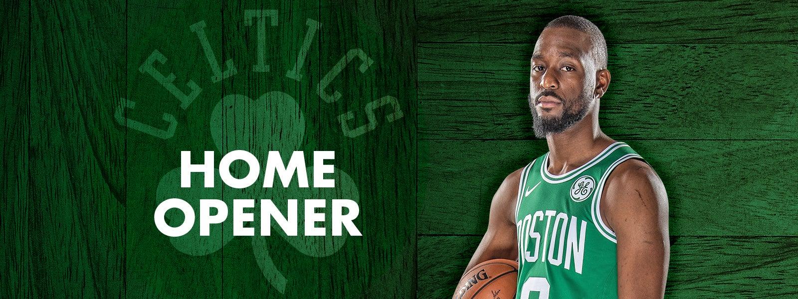 Home Opener: Celtics vs. Raptors
