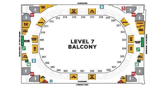 Balcony Map