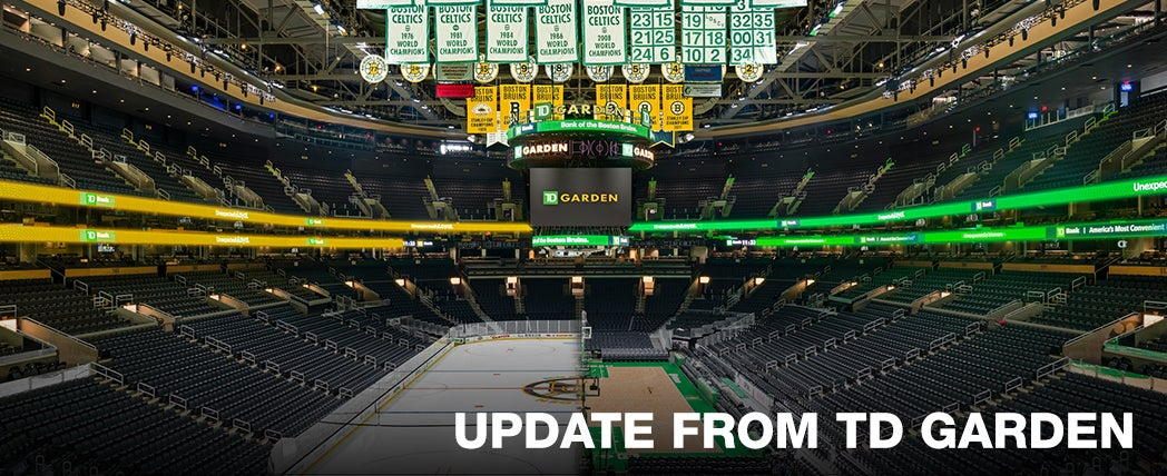 More Info for Update from TD Garden