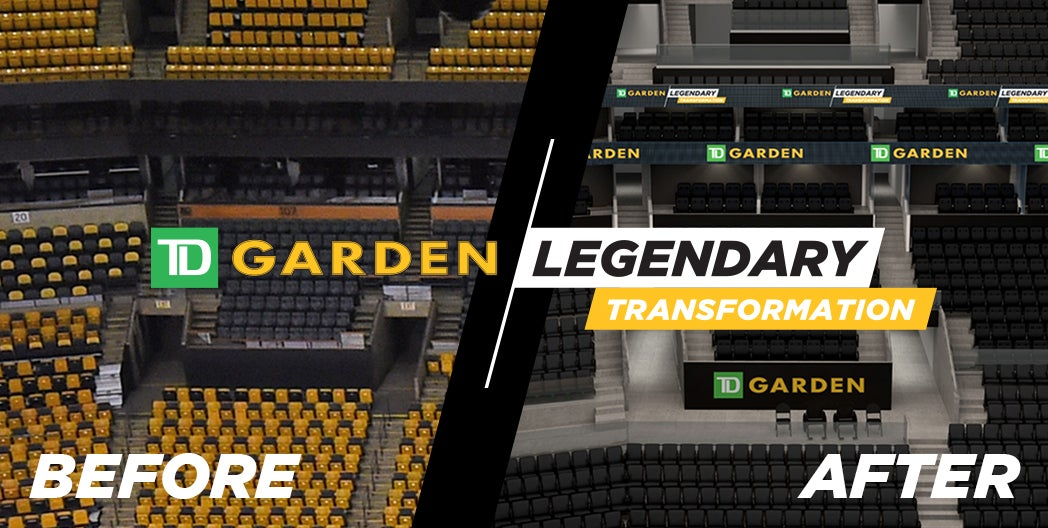 TD Garden Announces Seat Upgrades