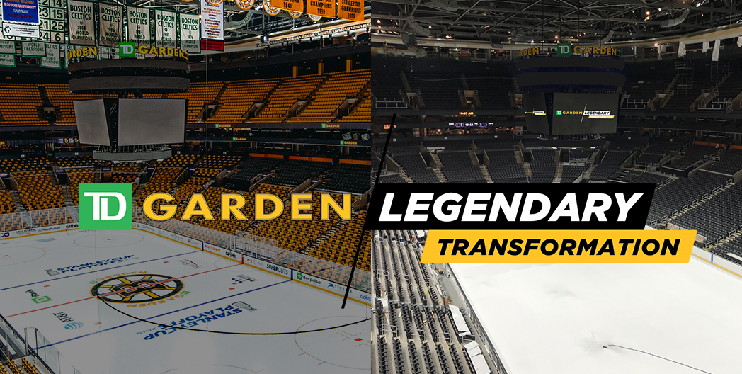 TD Garden Legendary Transformation Updates