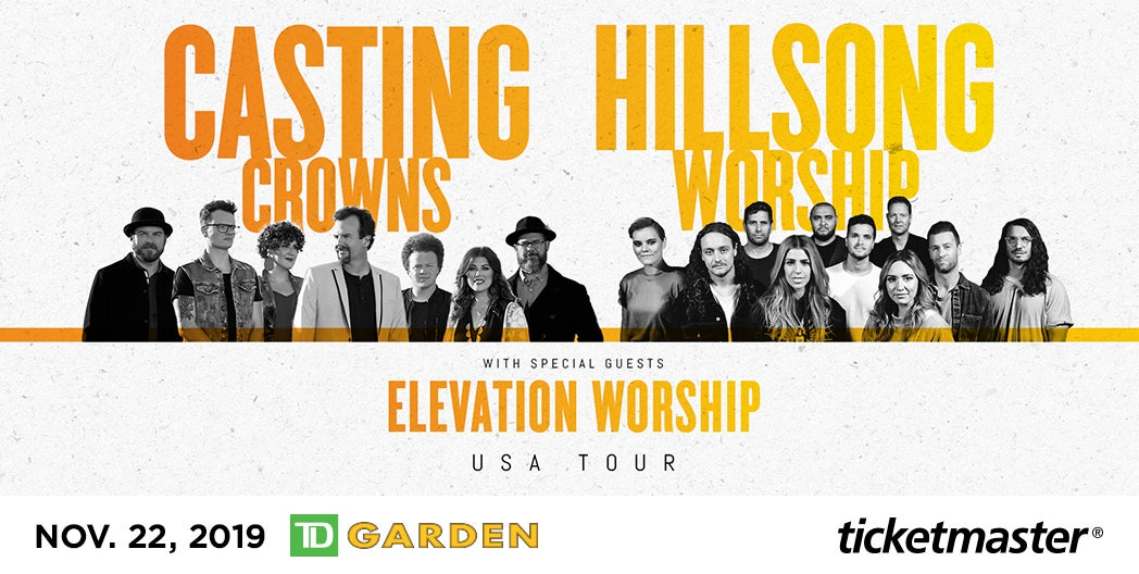 More Info for Hillsong Worship, Casting Crowns & Elevation Worship