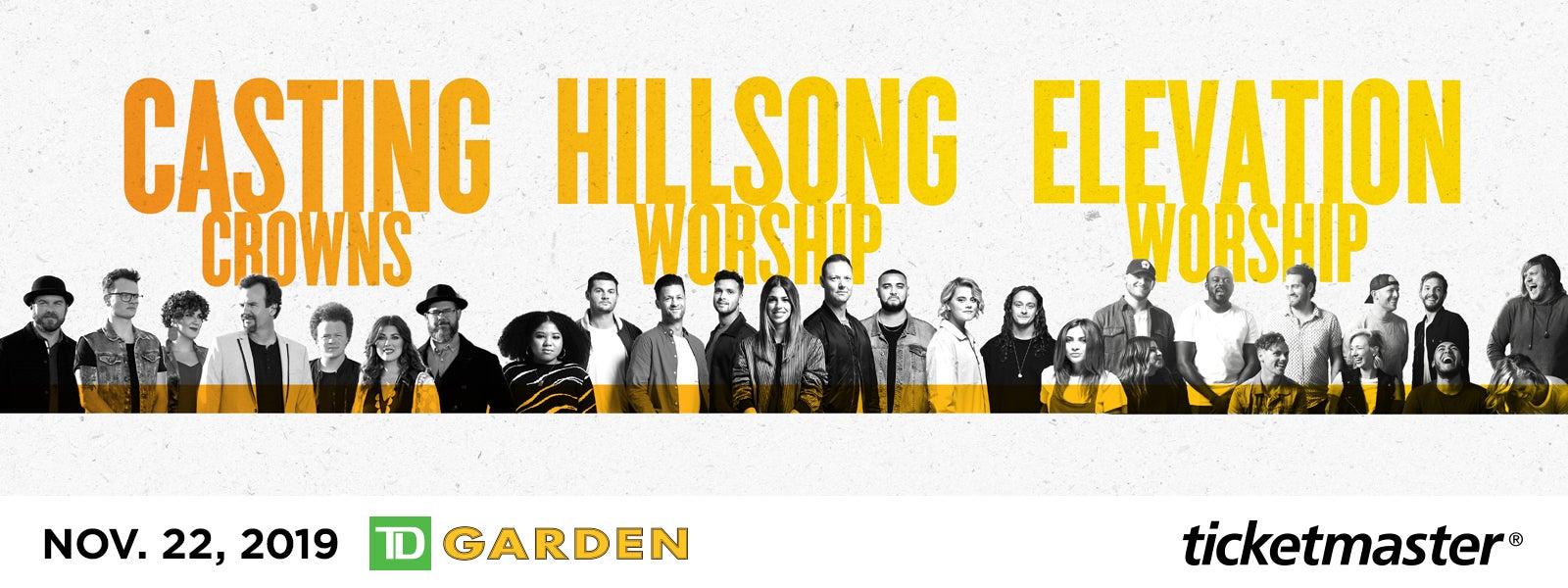 Hillsong Worship, Casting Crowns & Elevation Worship