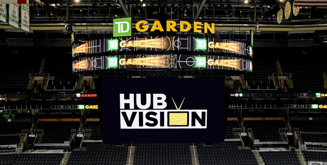 TD GARDEN DEBUTS NEW 'HUB VISION'