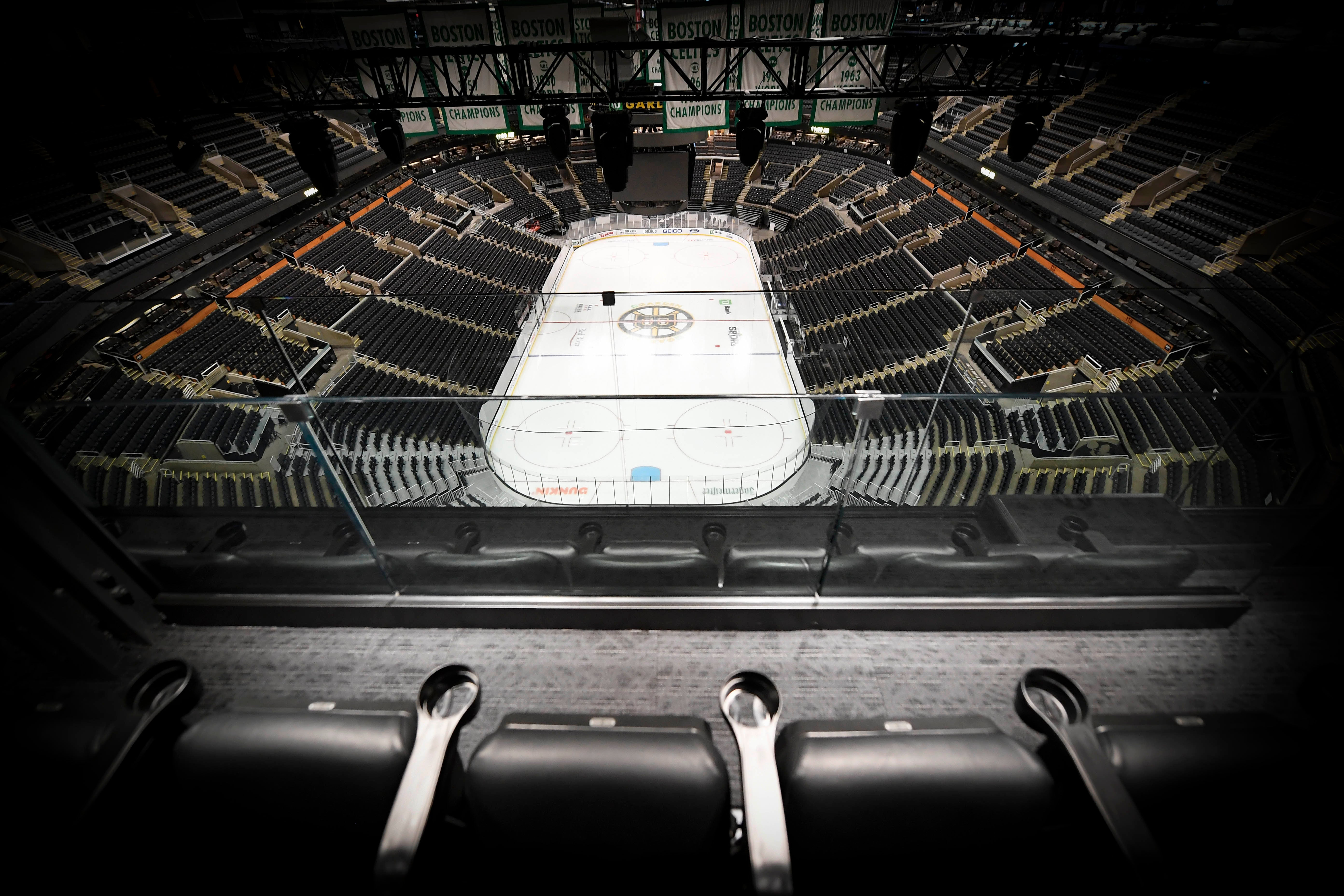 Image of arena from Rafters