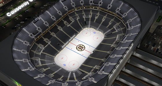 Bruins Seat Finder Map