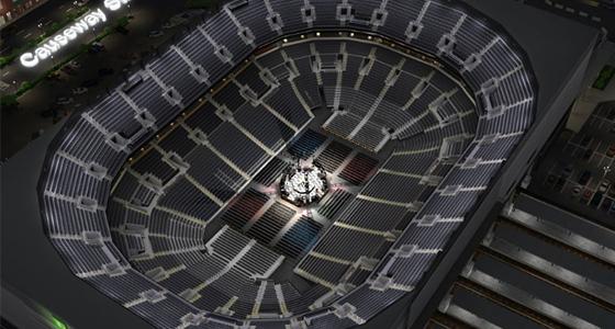 Center Stage Concert SeatFinder Map