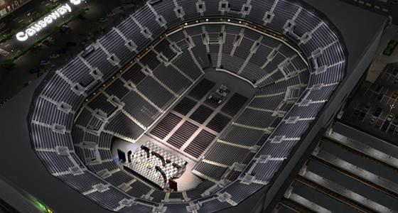 End Stage Concert Seat Finder Map