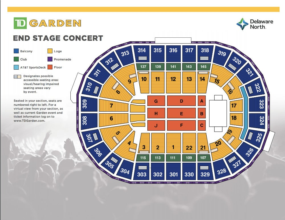 Seating Map End Stage