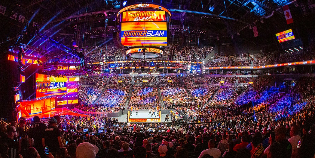 More Info for WWE Summerslam / Friday Night Smackdown