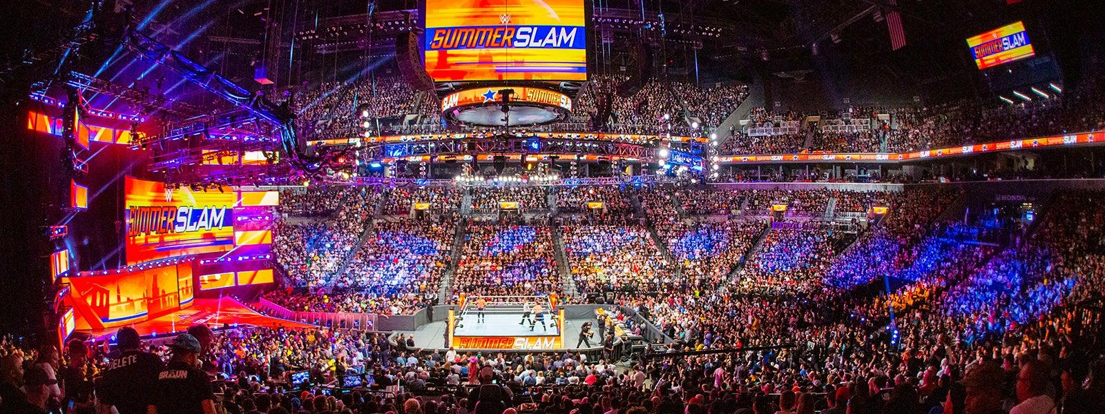 WWE Summerslam / Friday Night Smackdown